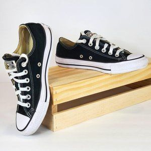 CONVERSE chuck taylor all star sneakers black Sz 7